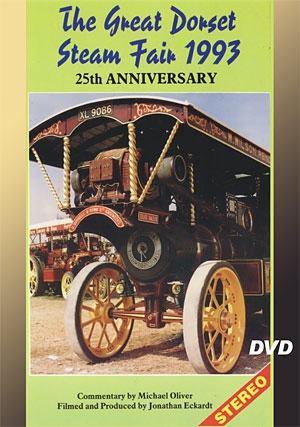 The Great Dorset Steam Fair 1993 DVD